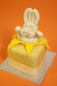Mini Bunny Fruit Cake