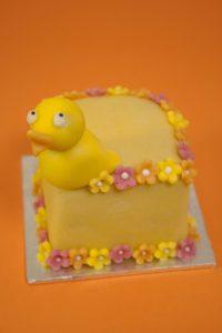 Mini Chick Fruit Cake